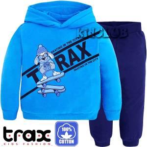 Φόρμα φούτερ αγορίστικη με στάμπα city TRAX