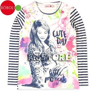 BOBOLI Μπλούζα Για Κορίτσια Μακρυμάνικη Cute Μπόμπολι