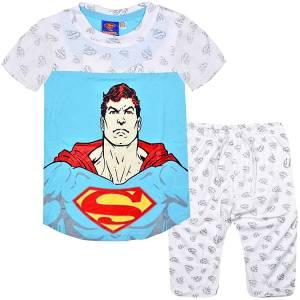 Πιτζάμα Superman Λευκή