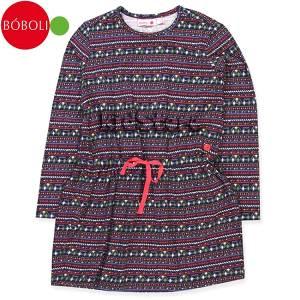 BOBOLI Φόρεμα Για Κορίτσια Μακρυμάνικο Code Μπόμπολι